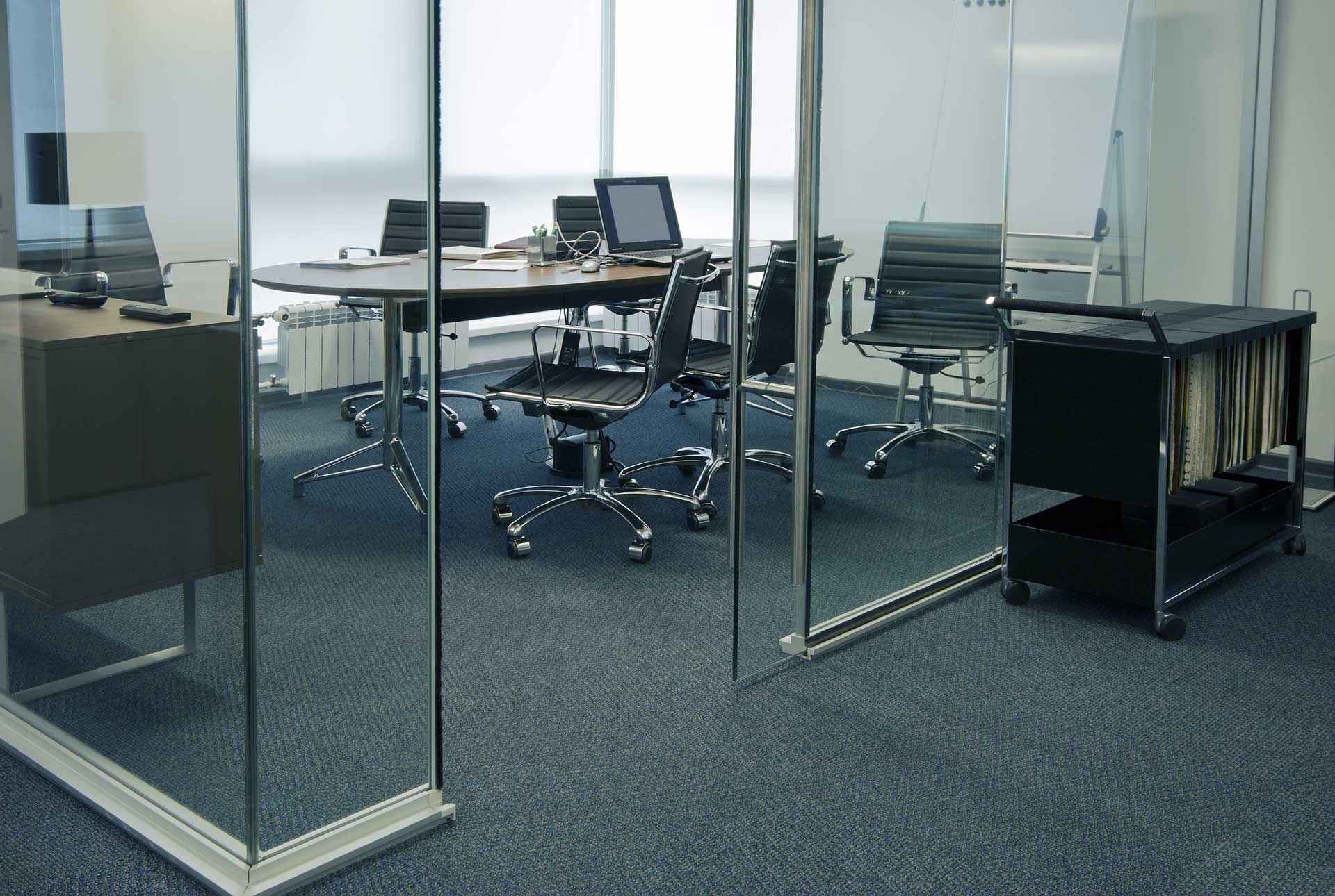 Image of Office carpet cleaning professionals at Carpet Keepers