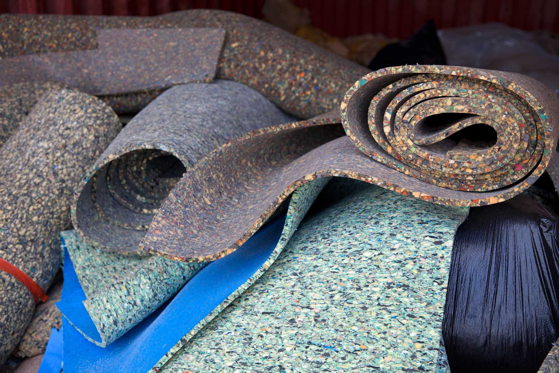 Image of carpet padding post from Carpet Keepers