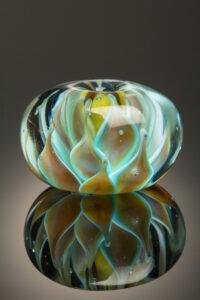 Lotus Handmade Lampwork Bead
