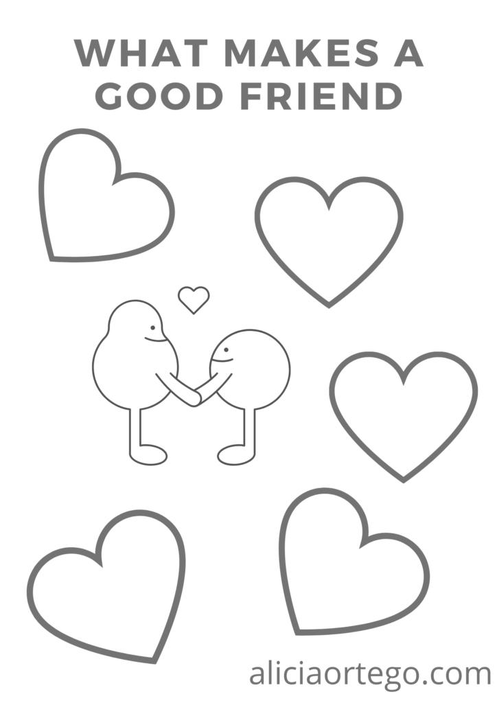 what makes a good friend activity
