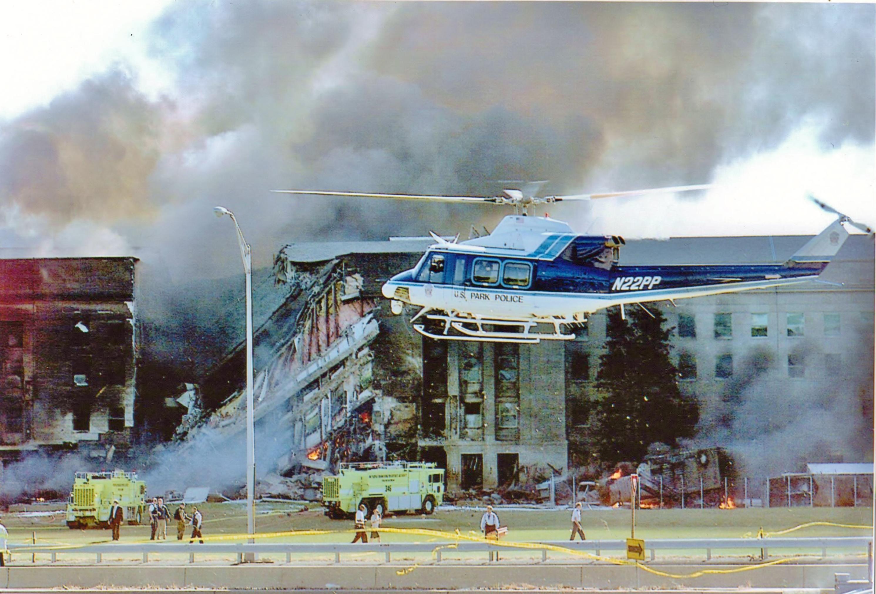 412 landing at Pentagon