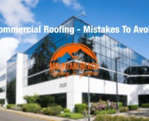 Commercial Roofing – Mistakes To Avoid