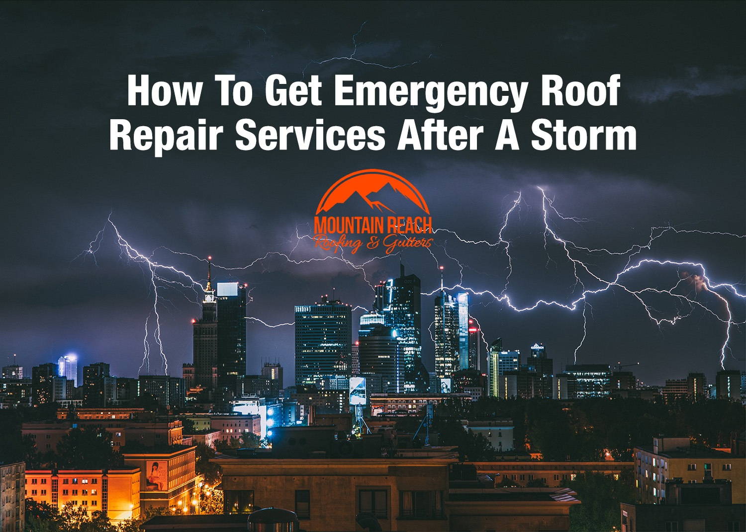 How To Get Emergency Roof Repair Services After A Storm