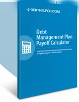 Debt Management Plan Payoff Calculator