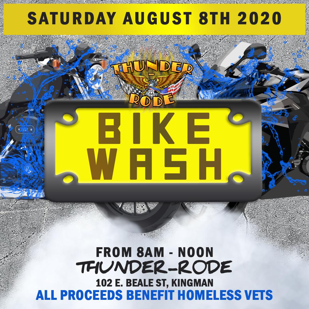 Bike Wash at Kingman Farmers Market at Thunder-Rode