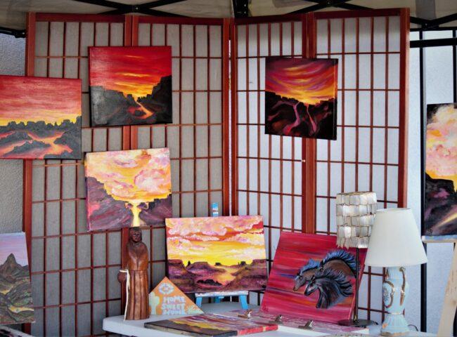 Kingman Farmers Market at Thunder-Rode Paintings