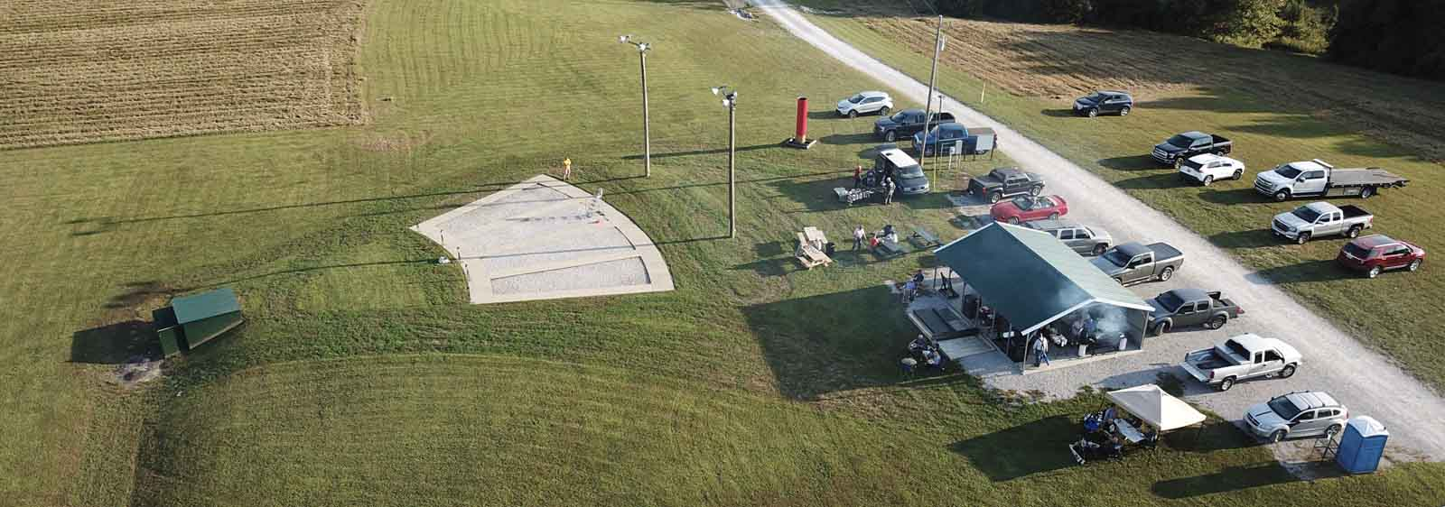 Eagle Eye view of Trap Range