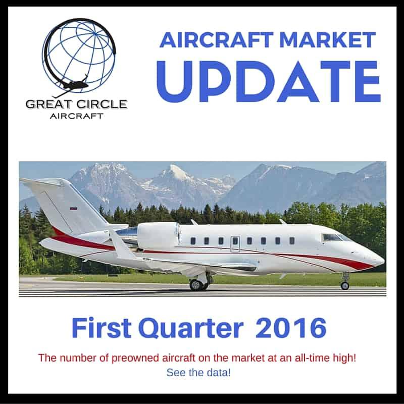 Great Circle Aircraft Market First Quarter 2016