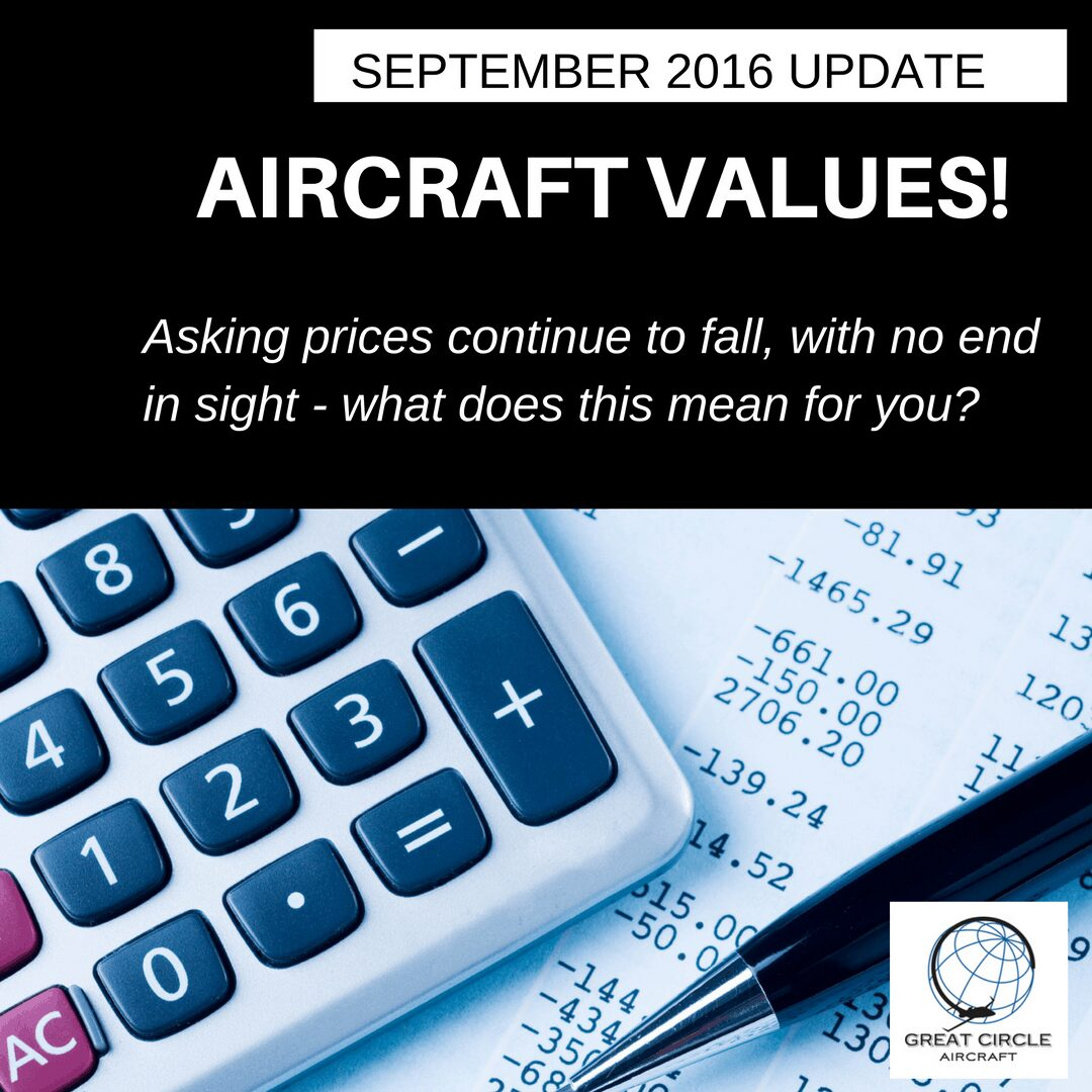 September 2016 – Aircraft Market Events