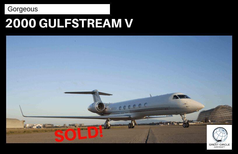 2000 Gulfstream V – Sold