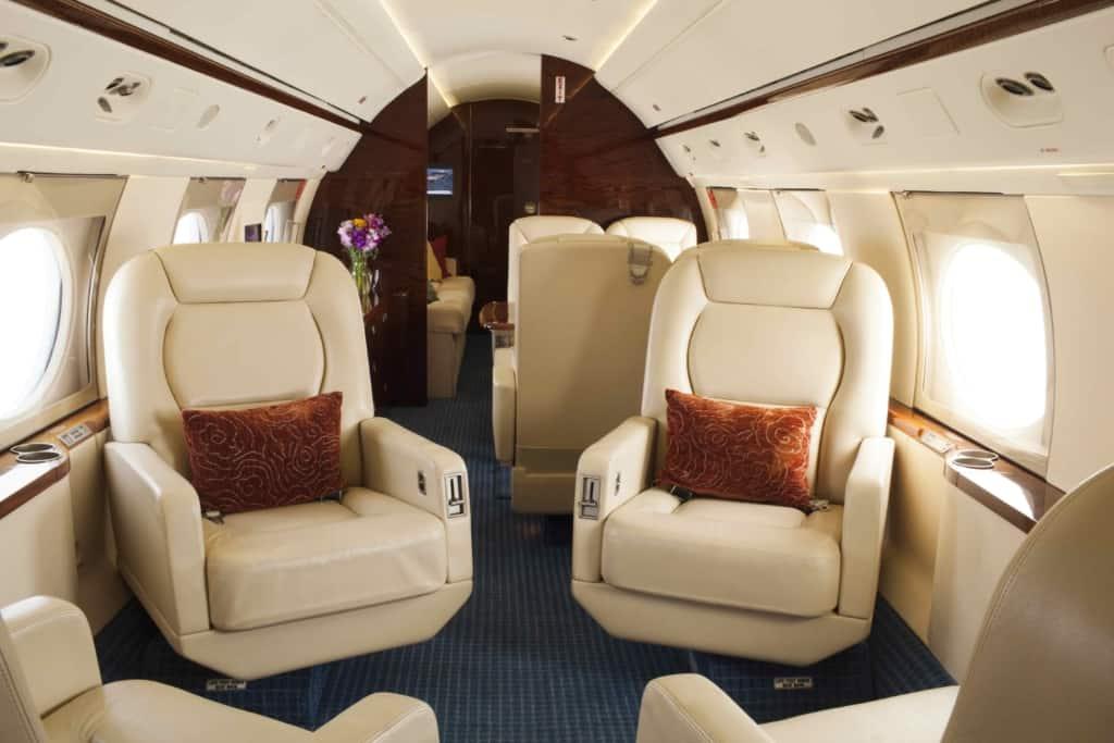 Gulfstream IV Interior_Fwd-to-aft