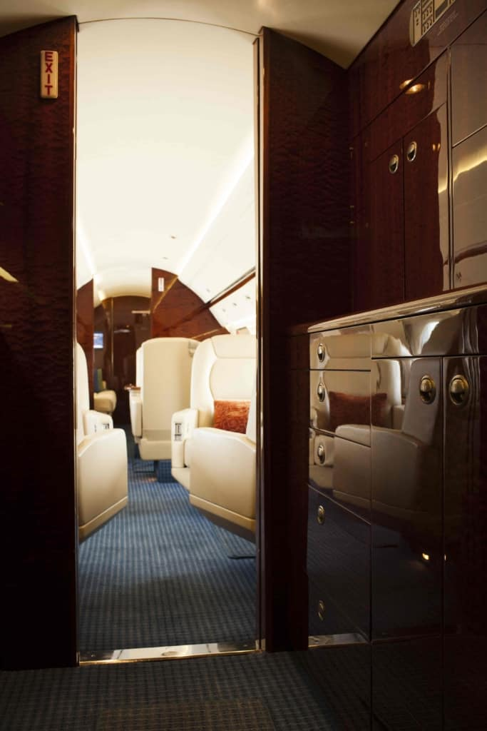 Gulfstream IV Interior Galley