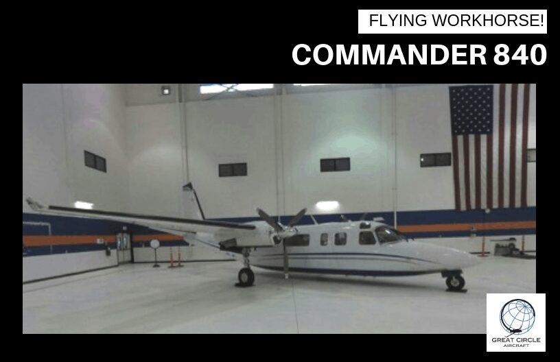 Commander 840 – ADS-B Compliant!