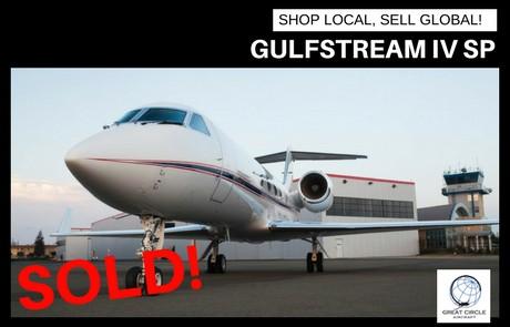 Gulfstream IV SP – SOLD!