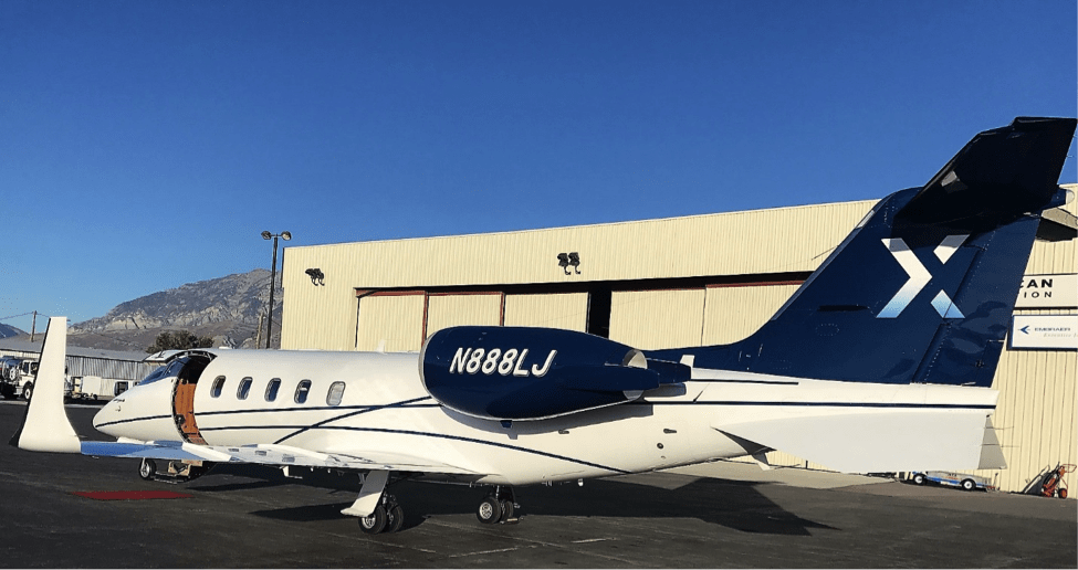 Lear 60 Aft Exterior