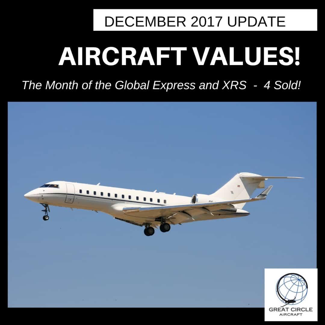 GC Aircraft Market Update December 2017 - Global Express