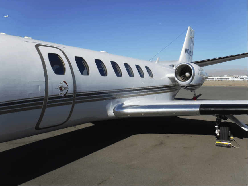 Cessna Citation Ultra Exterior