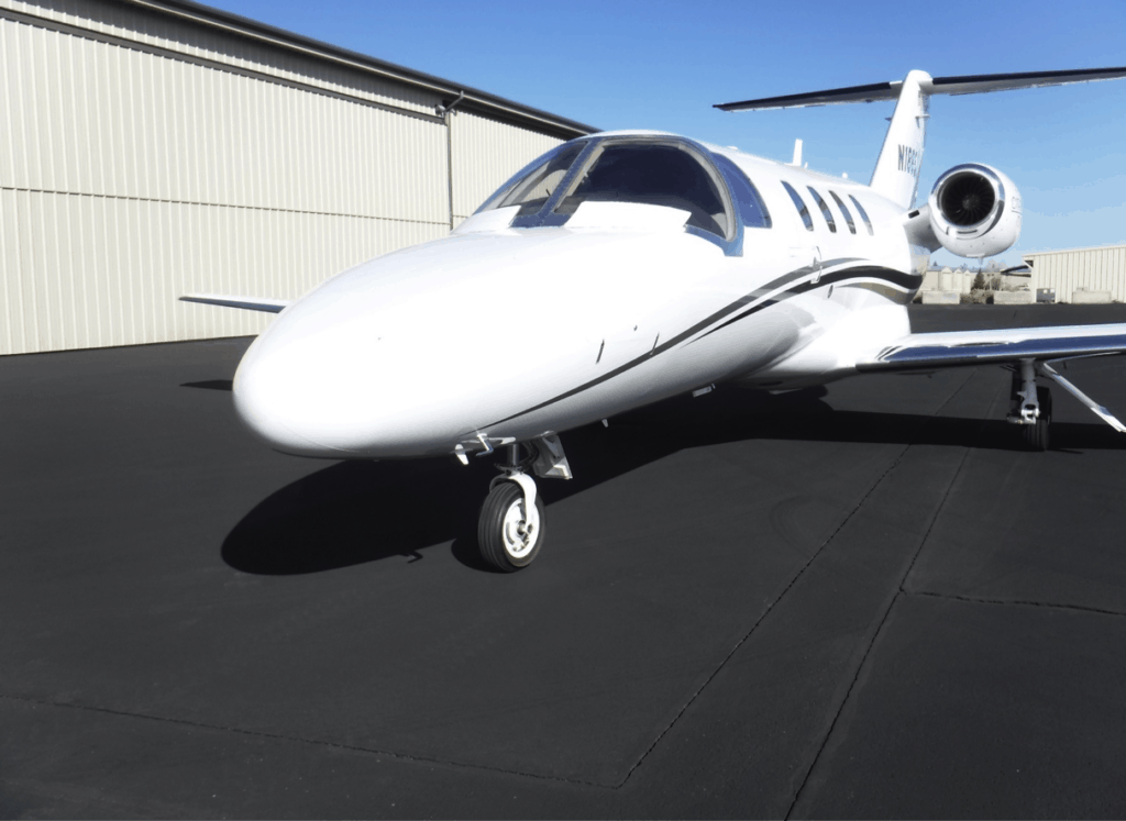 Citation CJ1+ Exterior from front