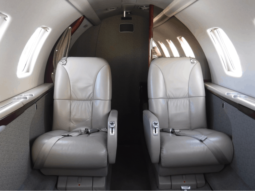 Citation CJ1+ Forward Facing Seats