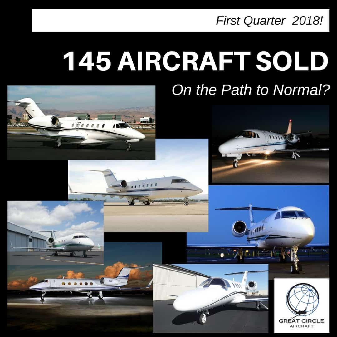 Aircraft Market Events -First QUARTER 2018 Sales Leader- Challenger 604