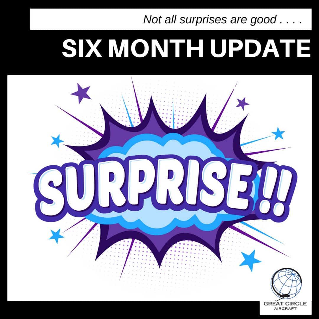 GC 6 month update surprise
