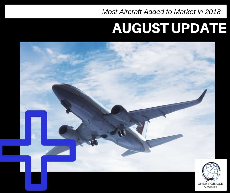 august aircraft market update