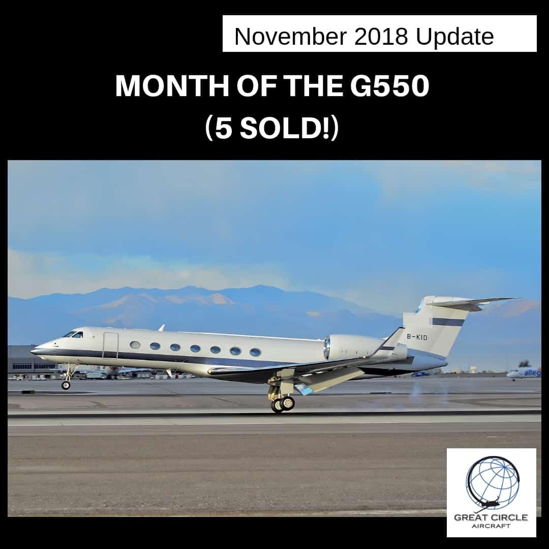 Business Jet Market Update - G 550