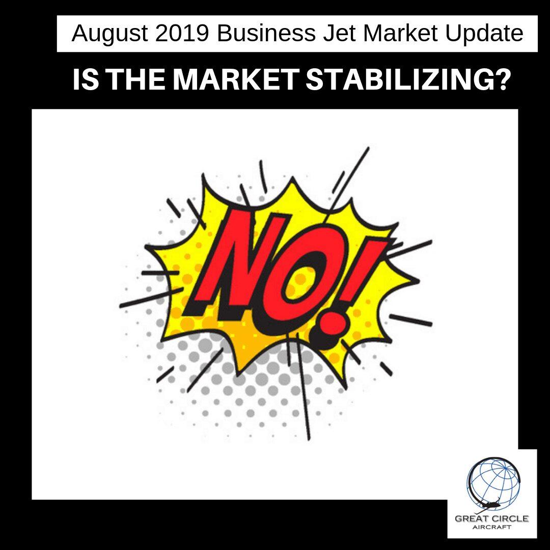 August 2019 Business Jet Market Update
