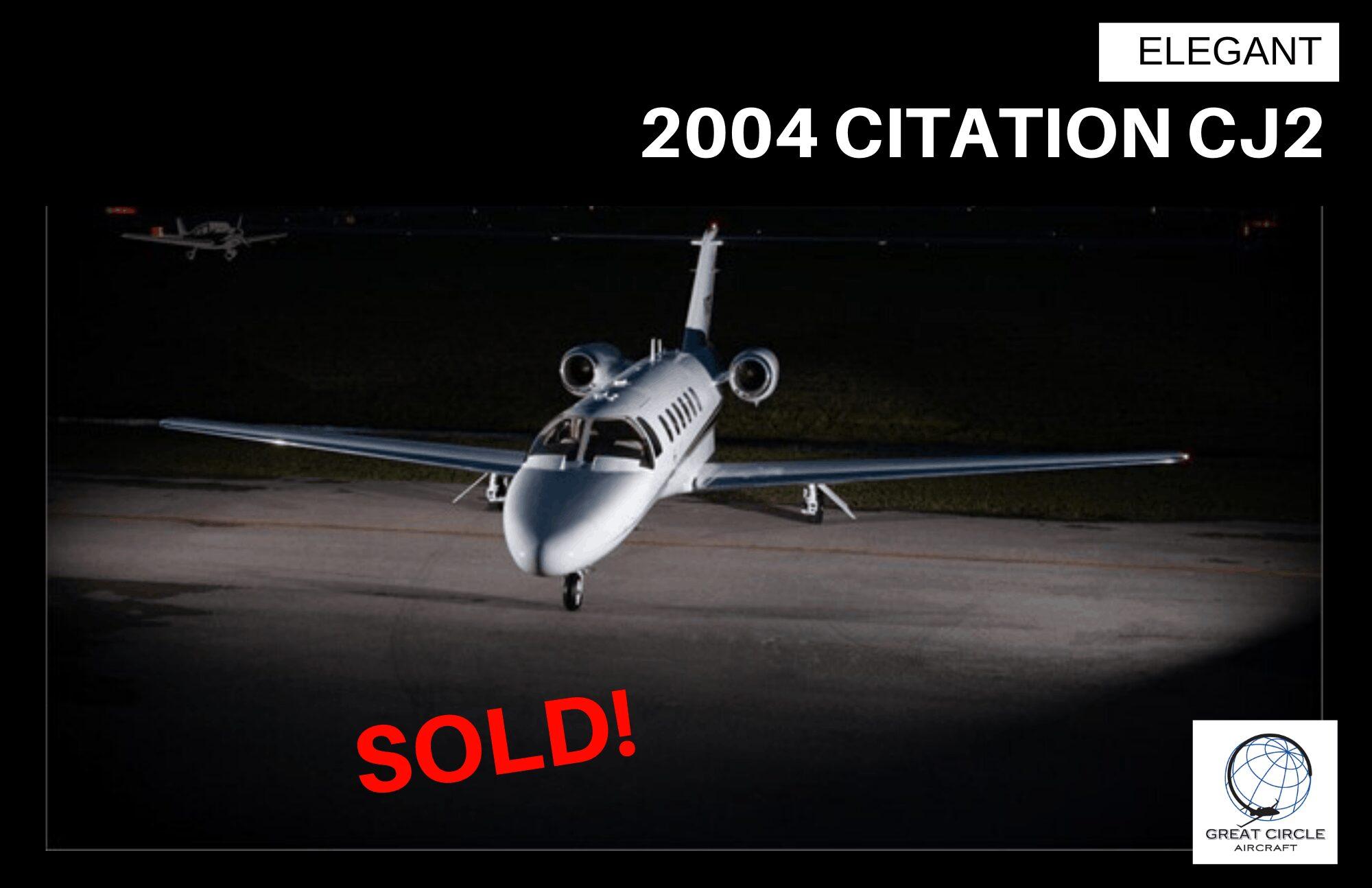 2004 Citation CJ2 – Sold!