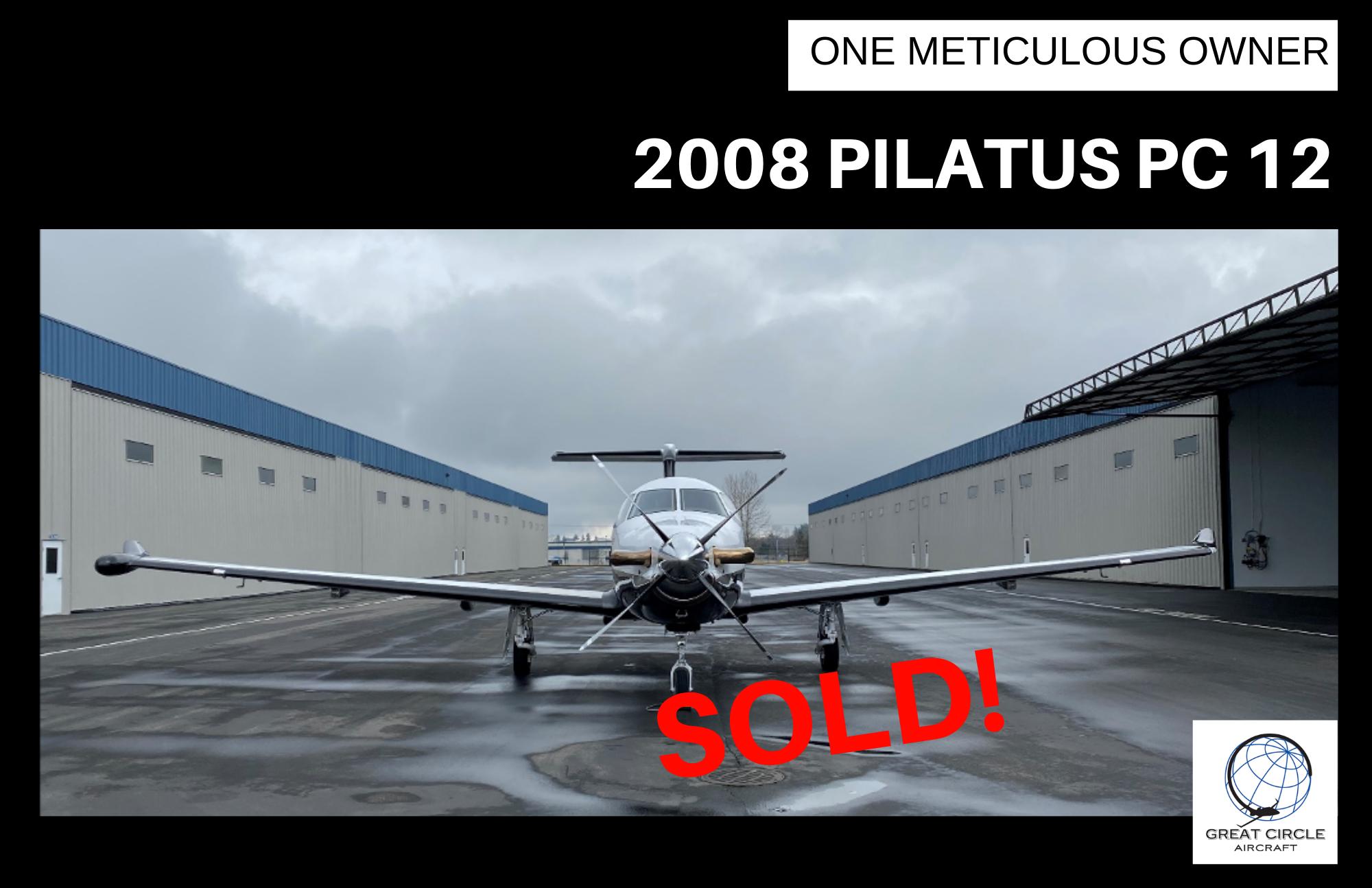 Sold-Pilatus PC 12