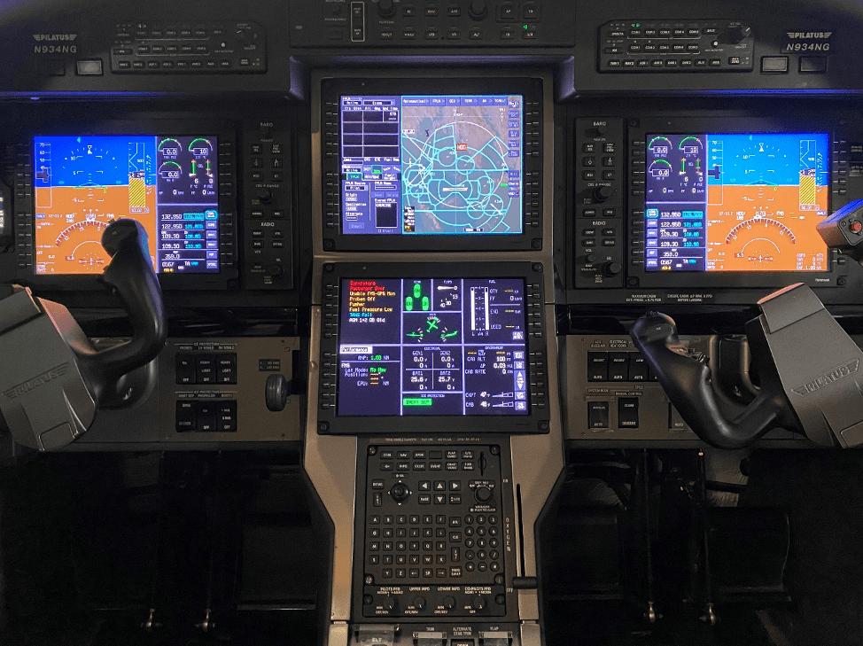 Pilatus PC 12 avionics