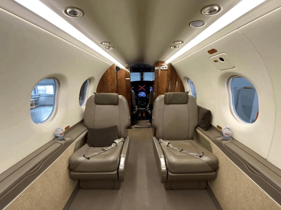 Pilatus PC 12 - Interior
