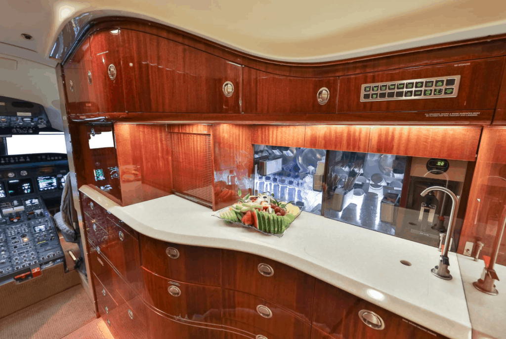 2004 Bombardier Challenger 604 Galley