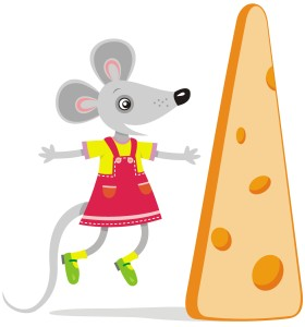 mouse with cheeseHiRes