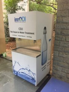 innoDI dispenser at IIT Chennai
