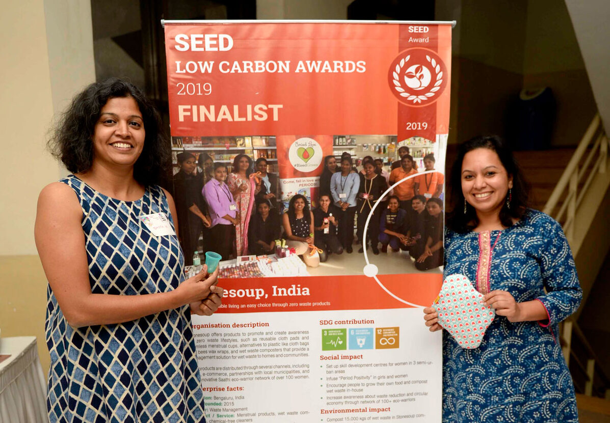 Stonesoup team as finalists in the SEED awards
