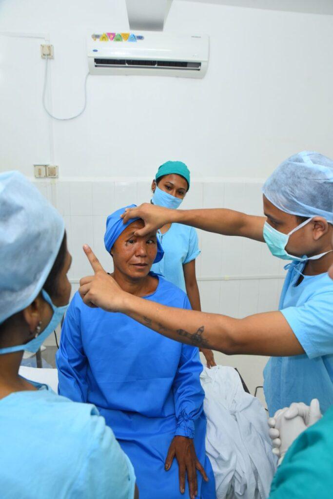 Testing at ERC Eye Care