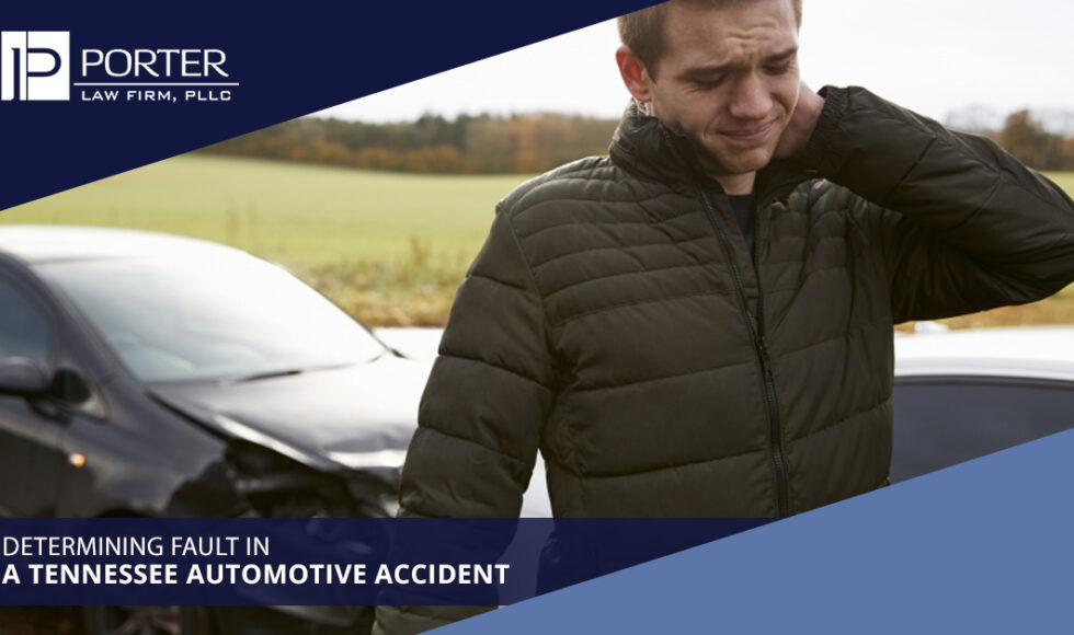 Determining Fault In A Tennessee Automotive Accident