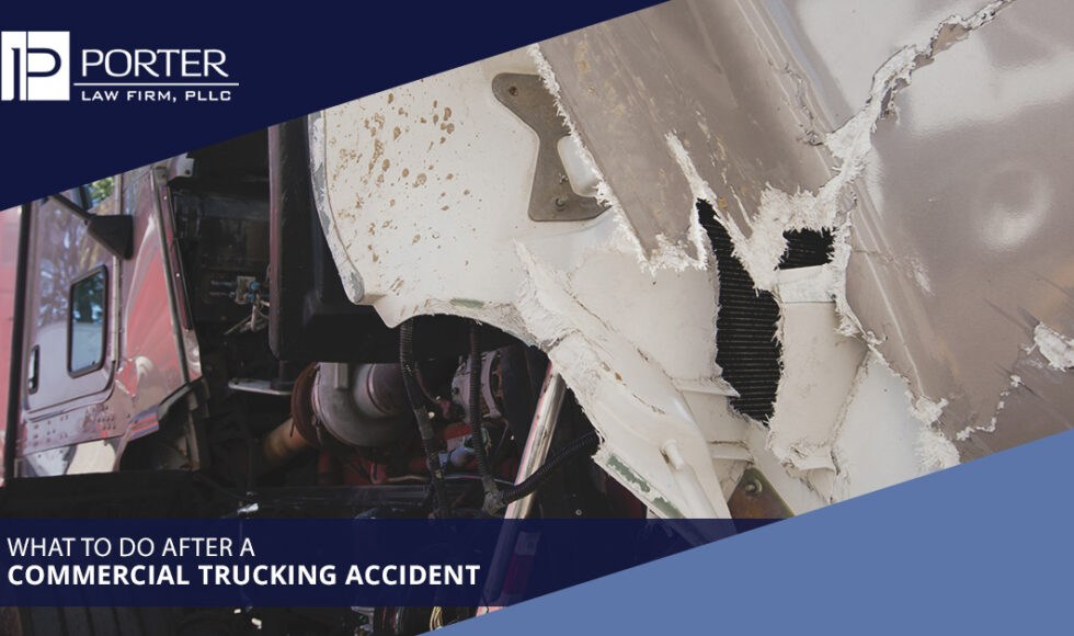 What To Do After A Commercial Trucking Accident