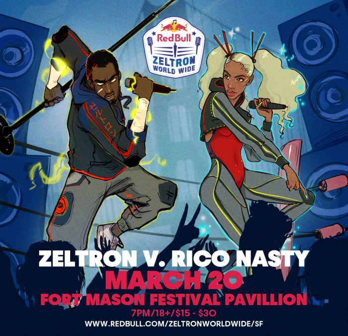 Red Bull Zeltron World Wide San Francisco To Feature Denzel Curry, Rico Nasty On March 20