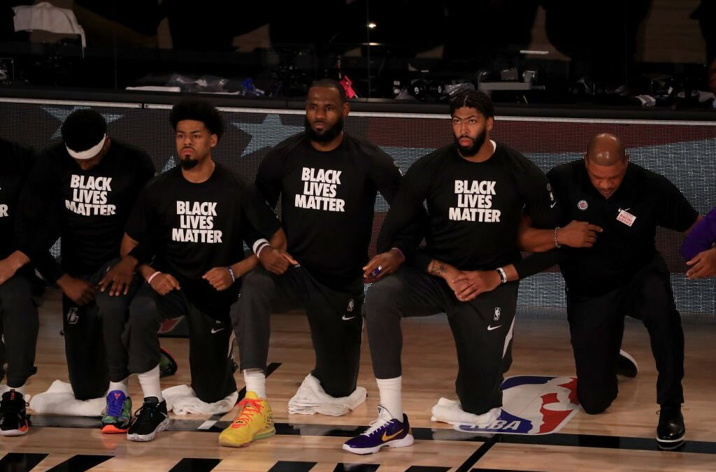 LeBron James & Other Superstars Send Powerful Message On Opening Night of The NBA Restart