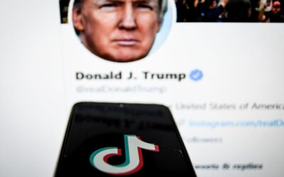 """Blank Stare: Donald Trump Issues Executive Order Banning TikTok & WeChat """"Transactions"""" In 45 Days"""