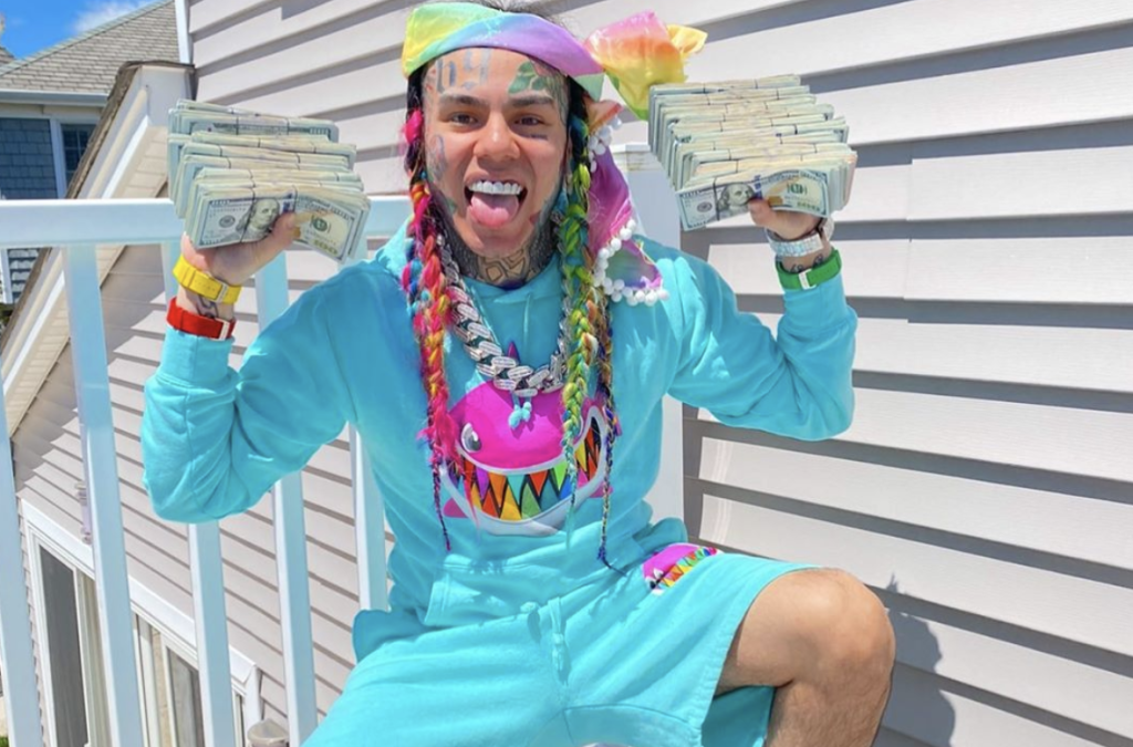 Tekashi 6ix9ine Spotted Shopping For A Mansion With An Underground Tunnel