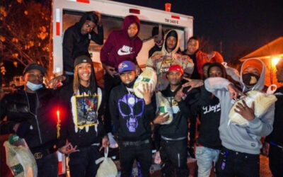 """EXCLUSIVE: Pooh Shiesty Hosts Turkey Giveaway, Talks Signing With Gucci Mane And Connecting With Lil Durk on """"Back In Blood"""