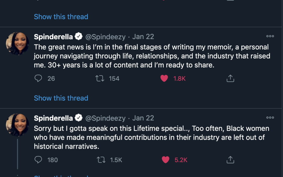 """Spinderella Talks Being Written Out Of """"Salt-N-Pepa"""" Movie; Dropping A Book"""