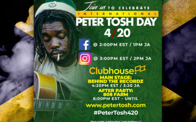 BLAZE UP!!! 4/20 Renamed to 'International Peter Tosh Day'