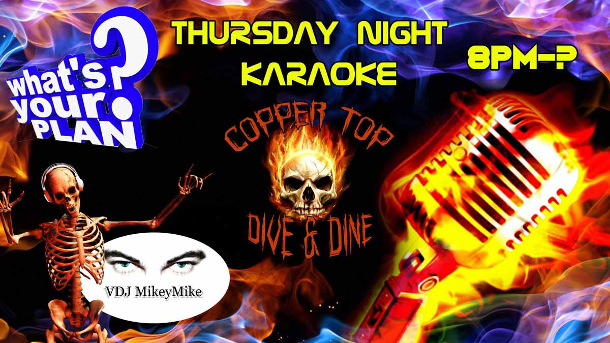 Karaoke at Copper Top