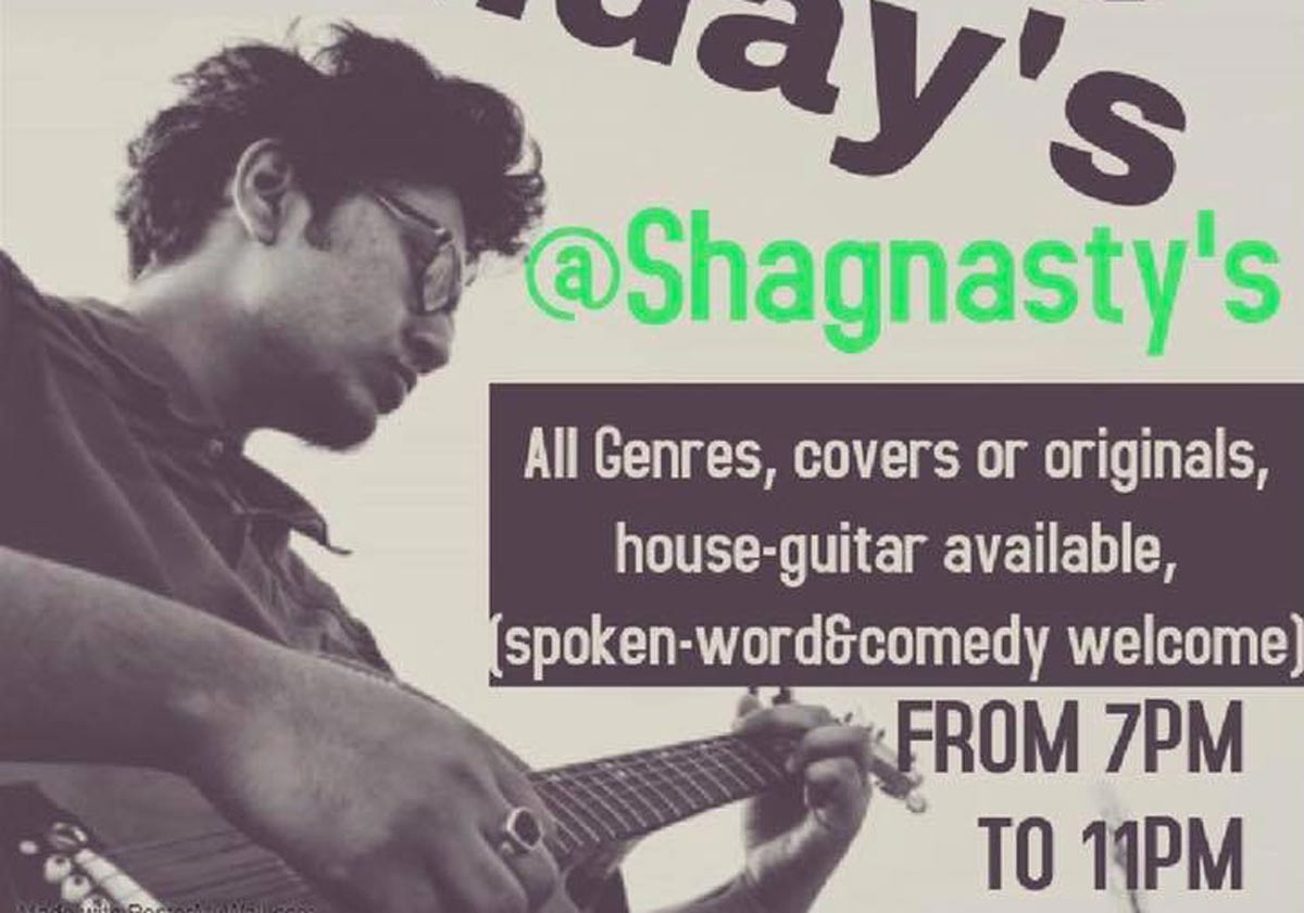 Open Mic - Shagnasty's