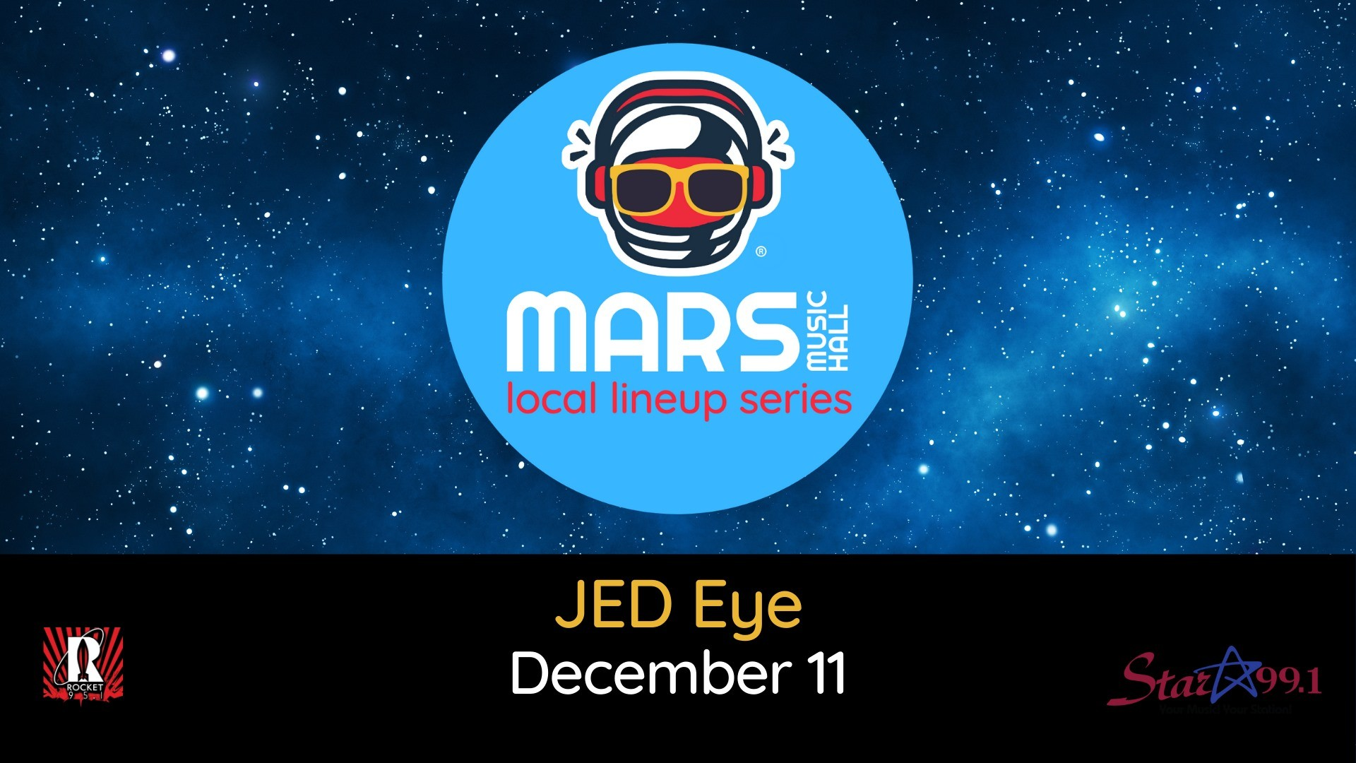 JED Eye at Mars Music Hall