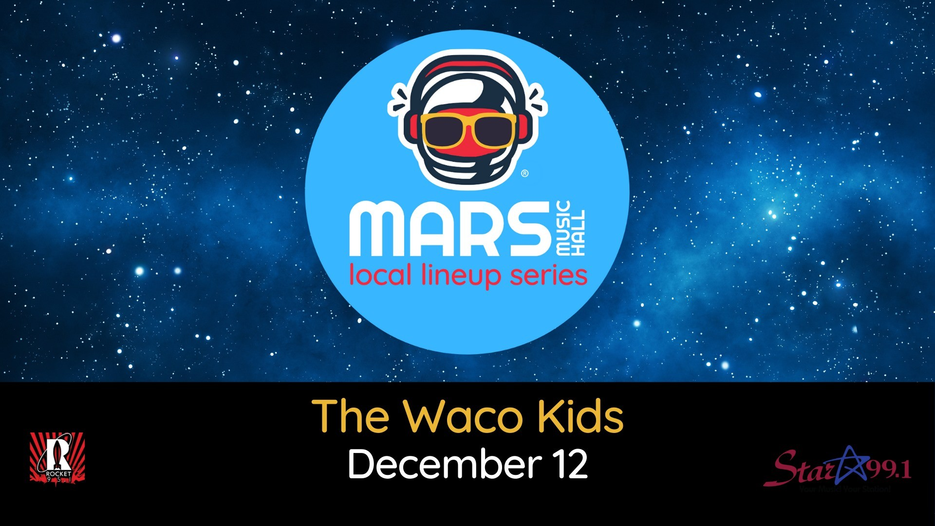 The Waco Kids at Mars Music Hall
